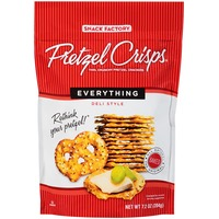 Pretzel Crisps Everything Deli Style Pretzel Crackers
