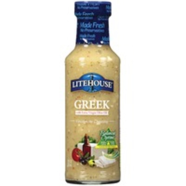 Litehouse Greek With Extra Virgin Olive Oil Vinaigrette Dressing