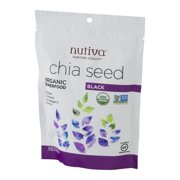 Nutiva Organic Superfood Chia Seed Black