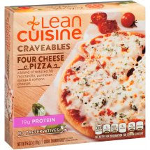 LEAN CUISINE Craveables Four Cheese Pizza 6 oz Box