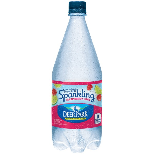 Deer Park Raspberry Lime Sparkling Natural Spring Water