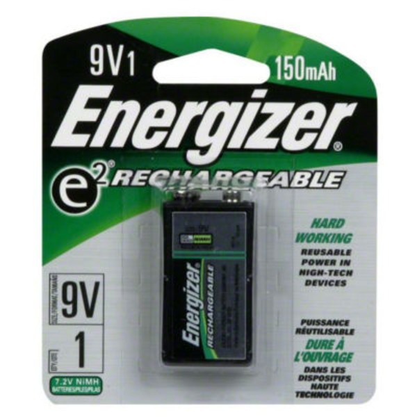 Energizer E2 Rechargeable 9 V Battery