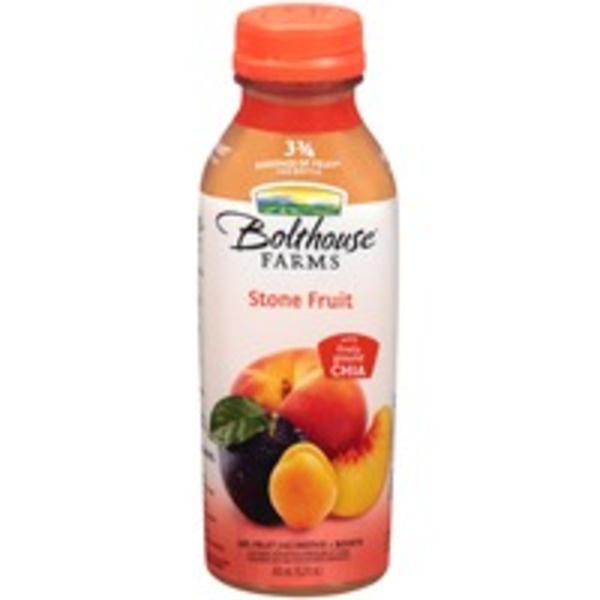 Bolthouse Farms Stone Fruit 100% Fruit Juice Smoothie + Boosts