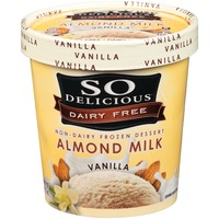 So Delicious Almond Milk Vanilla Non-Dairy Frozen Dessert