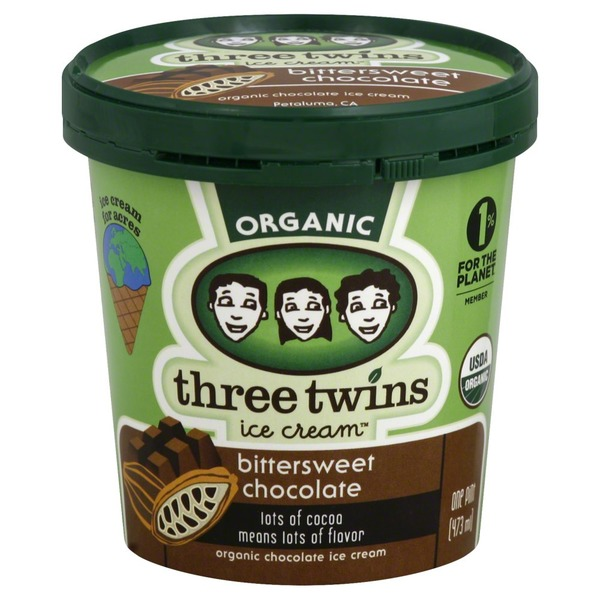 Three Twins Organic Bittersweet Chocolate
