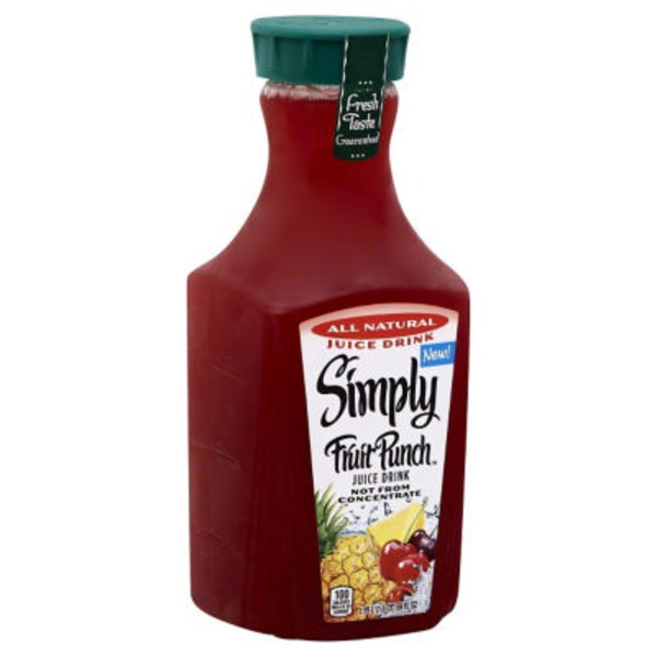 Simply Beverages Fruit Punch Juice Drink