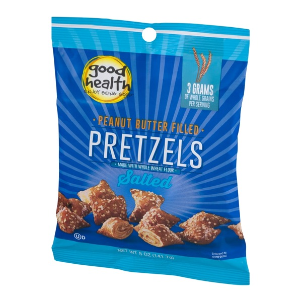 Good Health Peanut Butter Filled Pretzels Salted