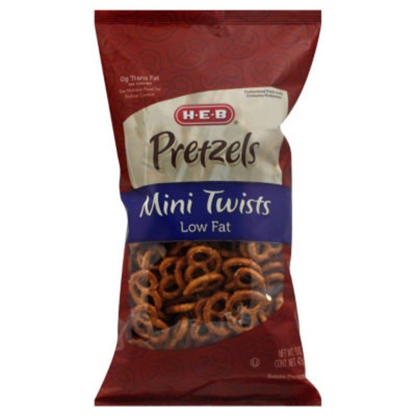H-E-B Mini Twists Pretzels