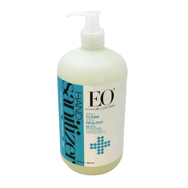EO Hand Sanitizer Unscented with Organic Jojoba