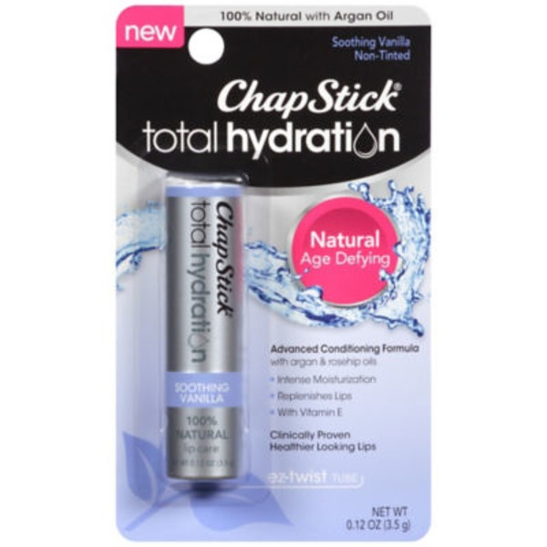 Chapstick Total Hydration Soothing Vanilla Lip Care