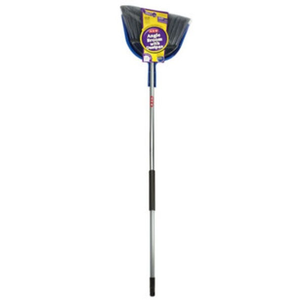 H-E-B Extra Wide Angle Broom & Dustpan