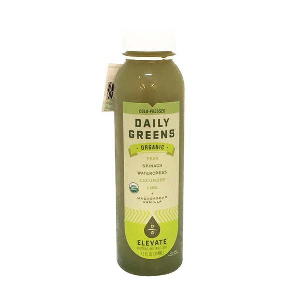 Daily Greens Organic Elevate Juice Blend