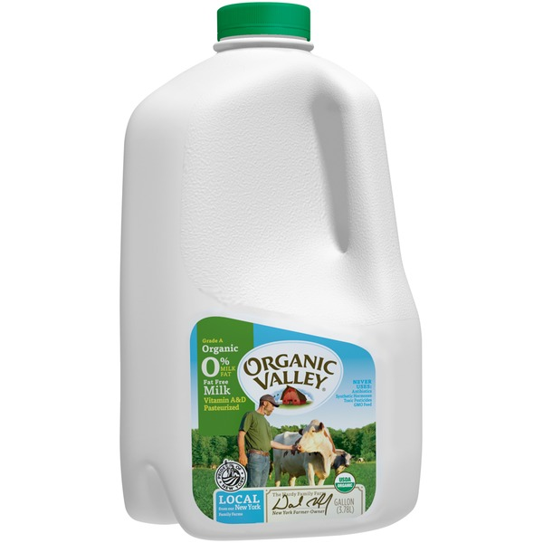 Organic Valley Fat Free Milk
