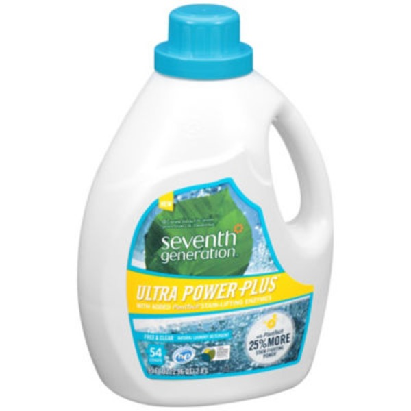 Seventh Generation Ultra Power Plus Free & Clear Natural Laundry Detergent