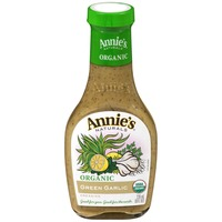 Annie's Homegrown Organic Green Garlic Dressing Vinegar Free Dressing Organic