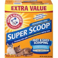 Arm & Hammer Super Scoop Clumping Fragrance Free Cat Litter