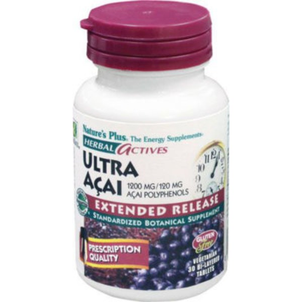 Nature's Plus Acai Extended Release Tablets