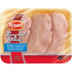 Tyson Trimmed & Ready Thin Sliced Boneless Skinless Fresh Chicken Breasts, 1.0-1.5 lbs.