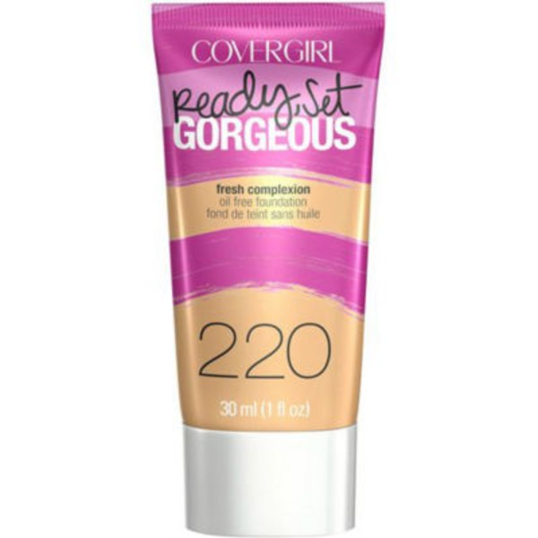 CoverGirl Ready Set Gorgeous COVERGIRL Ready, Set Gorgeous Foundation, Soft Honey  1 fl oz (30 ml) Female Cosmetics