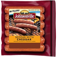 Johnsonville Beddar With Cheddar Smoked Sausage (100868) Holiday Promo Smoked & Cooked
