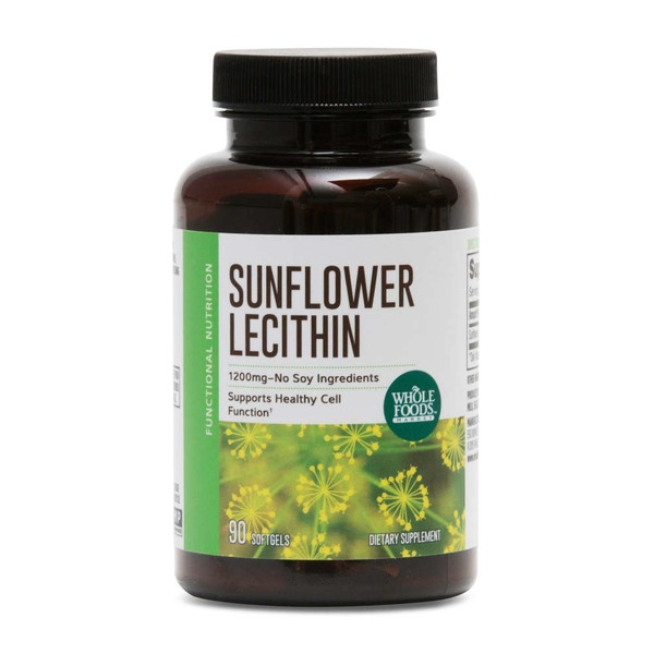 Whole Foods Market Sunflower Lecithin Softgels