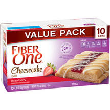 Fiber One­ Strawberry Cheesecake Bars