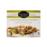 Saffron Road Lemongrass Basil Chicken with Basmati Rice, Medium