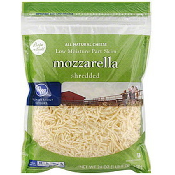 Kroger Shredded Mozzarella Cheese