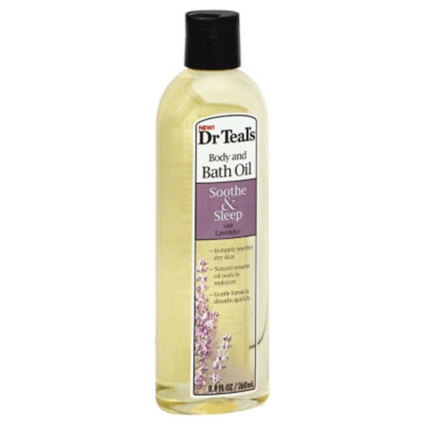 Dr. Teal's Soothe & Sleep Lavender Body and Bath Oil