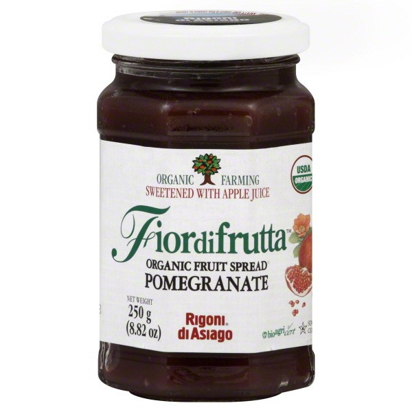 Rigoni di Asiago Fruit Spread, Organic, Pomegranate
