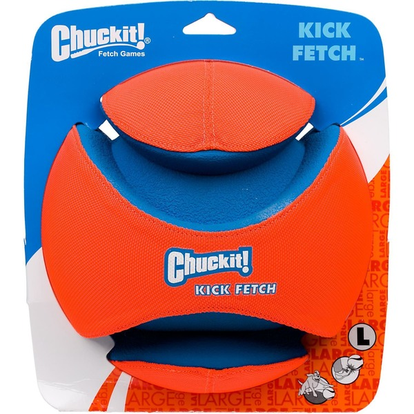 Canine Hardware Chuckit! Kick Fetch Ball Dog Toy Large