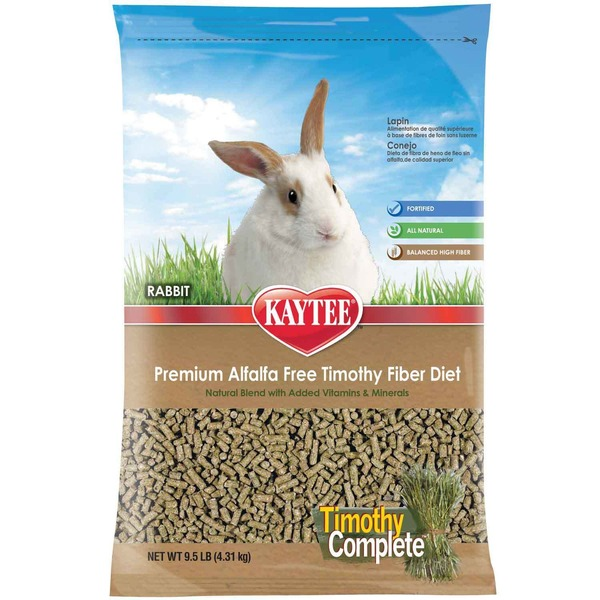 Kaytee Timothy Complete Rabbit Food 9.5 Lbs.