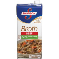Swanson's 100% Natural Beef Broth