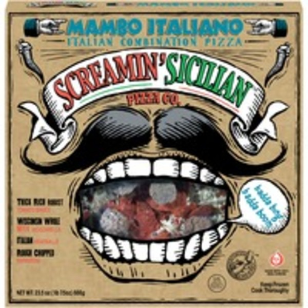 Screamin' Sicilian Mambo Italiano Italian Combination Pizza