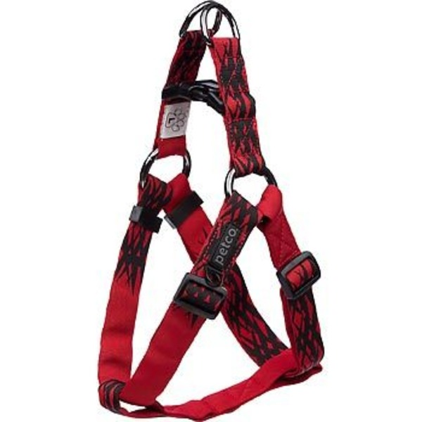 Petco Easy Step In Sport Dog Harness In Red & Black
