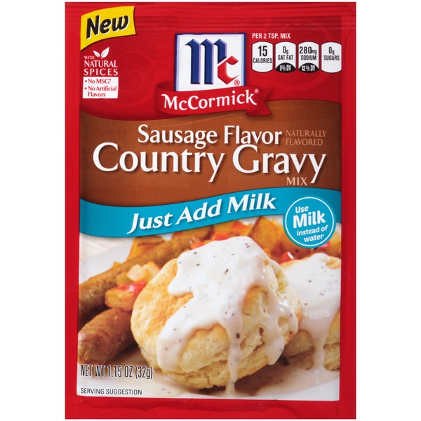 McCormick Sausage Flavor Country Gravy Mix