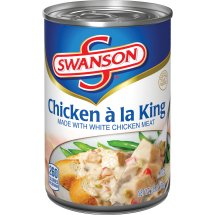 Swanson® Chicken á la King Made with White Meat Chicken, 10.5 oz., 10.5 OZ