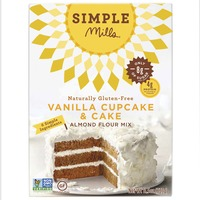 Simple Mills Vanilla Cupcake & Cake Almond Flour Mix