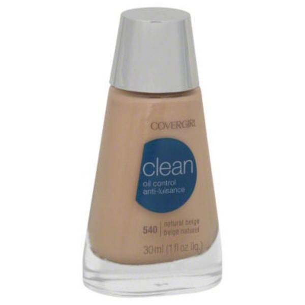 CoverGirl Clean Matte COVERGIRL Clean Matte Liquid Foundation Natural Beige 1 fl. oz Female Cosmetics