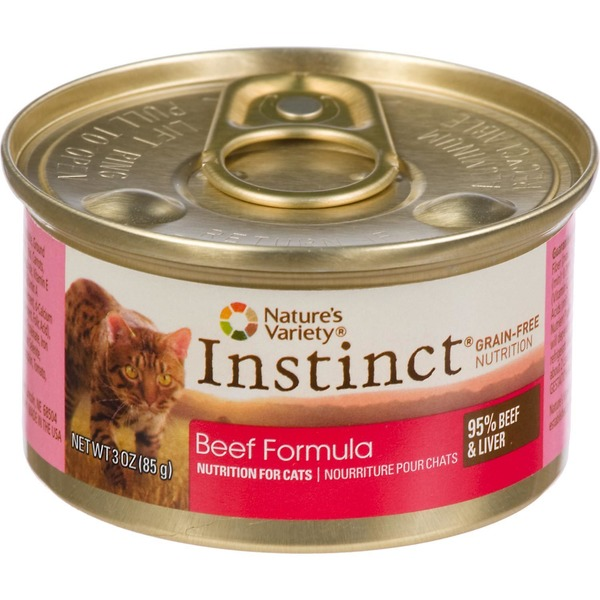 Nature's Variety Cat Food, Beef Formula