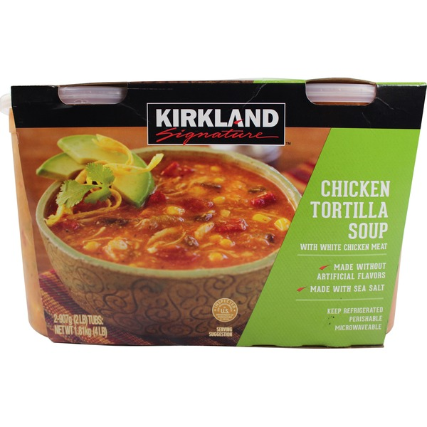 Kirkland Signature Chicken Tortilla Soup