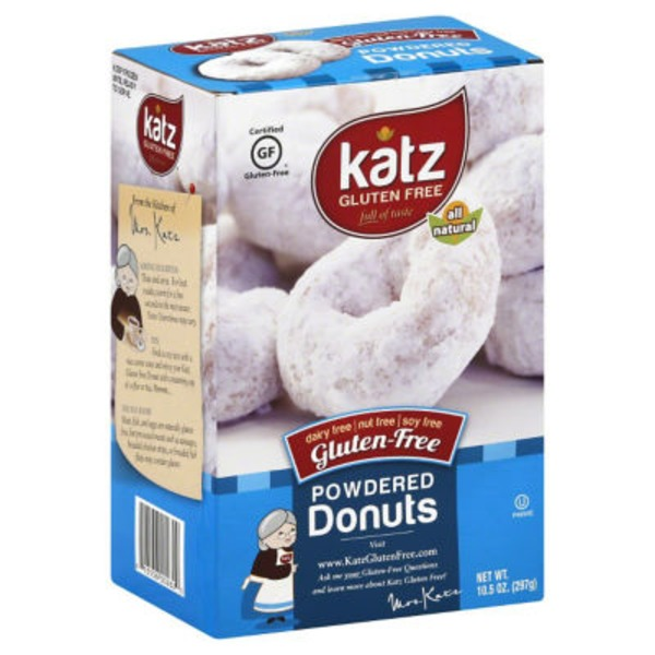 Katz Gluten-Free Powdered Donuts