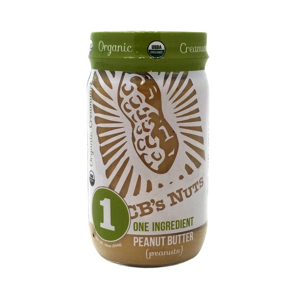 CB's Nuts Organic One Ingredient Peanut Butter