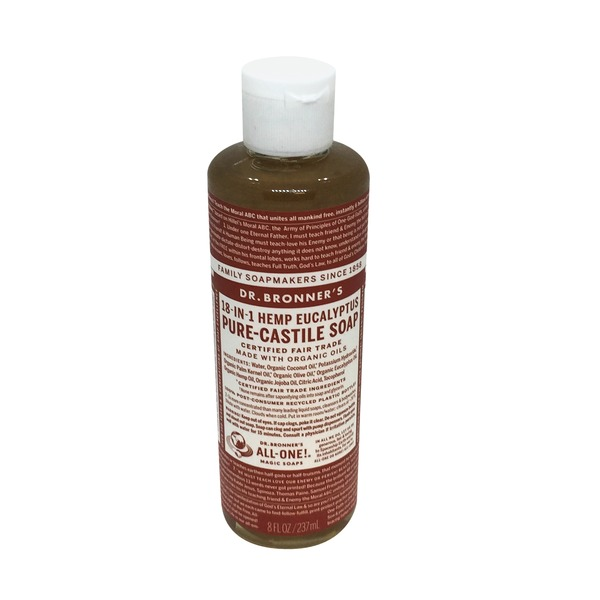 Dr. Bronner's All-One! Dr. Bronner's 18-In-1 Hemp Eucalyptus Pure-Castile Soap