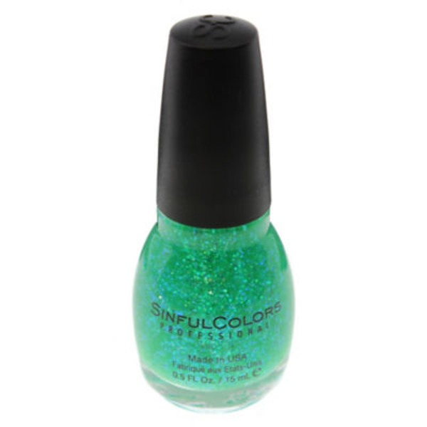 Sinful Sinful .5floz Nail Color 220 Green Ocean