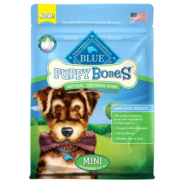 The Blue Buffalo Co. Puppy Bones Natural Teething Bone
