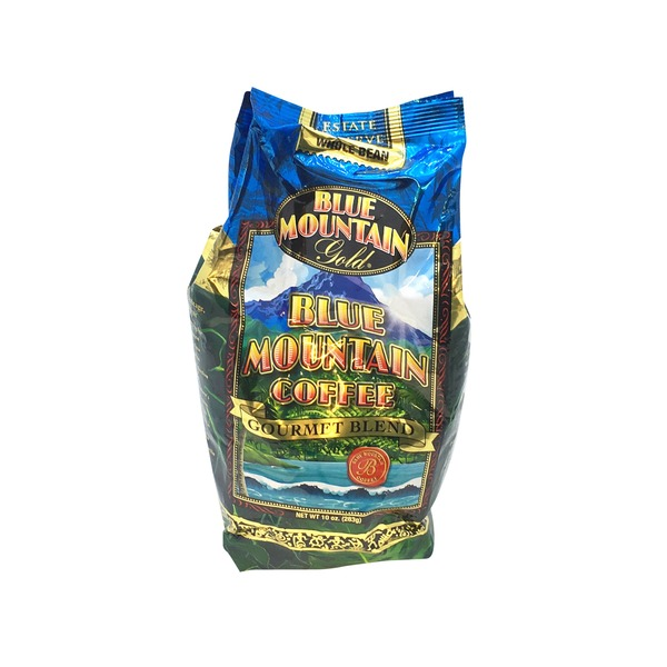 Blue Mountain Gold Blue Mountain Whole Bean Coffee Gourmet Blend