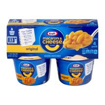 Kraft Macaroni & Cheese Dinner Cups Original Flavor - 4 PK, 2.05 OZ