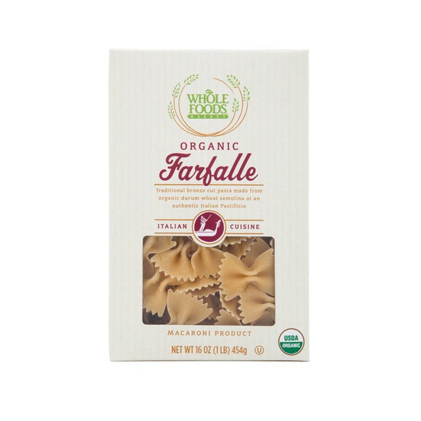 Whole Foods Market Organic Farfalle