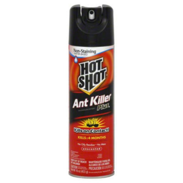 Hot Shot Unscented Ant Killer Plus